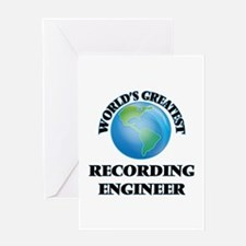 World's Greatest Recording Engineer Greeting Cards