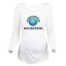 Cute Medical recruitment Long Sleeve Maternity T-Shirt