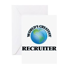 World's Greatest Recruiter Greeting Cards