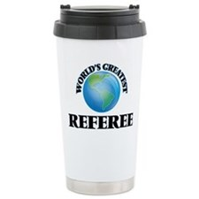 Funny Basketball referee Travel Mug