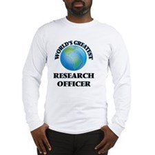 World's Greatest Research Officer Long Sleeve T-Sh