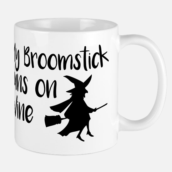 Broomstick Wine Mugs