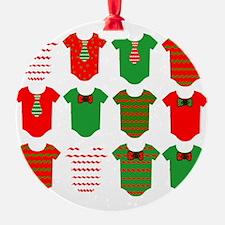 Christmas Onsies Ornament