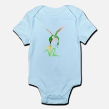 Green Hummingbird Body Suit