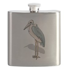 Marabou Stork Flask