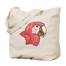 Macaw Head Tote Bag
