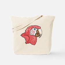 Macaw Head Tote Bag