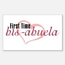Bis-Abuela - Girl Rectangle Decal