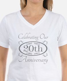 20th Wedding Anniversary Shirt