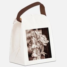 Infrared Bouquet Canvas Lunch Bag