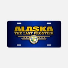 Alaska Flag Aluminum License Plate