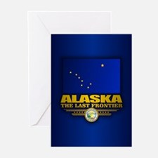 Alaska Flag Greeting Cards