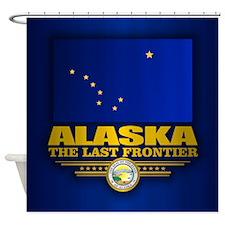 Alaska Flag Shower Curtain