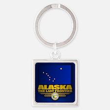 Alaska Flag Keychains