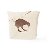 Kiwi Totes & Shopping Bags