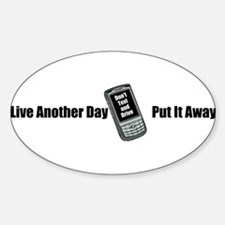 Dont Text and Drive Decal