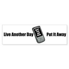 Dont Text and Drive Bumper Bumper Sticker
