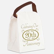 Cool Elegant wedding Canvas Lunch Bag