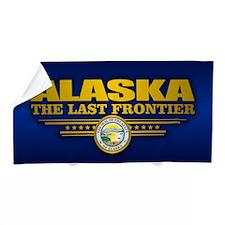 Alaska Flag Beach Towel