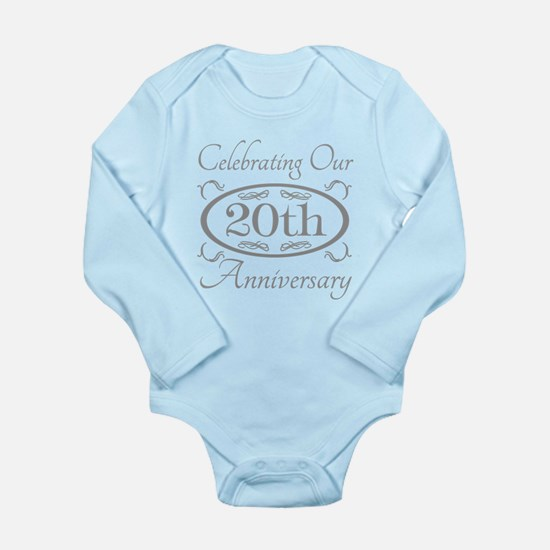 20th Wedding Anniversary Body Suit