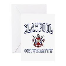 CLAYPOOL University Greeting Cards (Pk of 10)