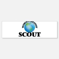 World's Greatest Scout Bumper Bumper Bumper Sticker