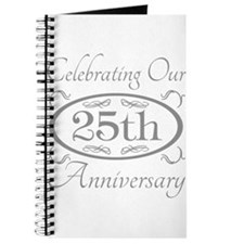 Funny 25th wedding anniversary Journal