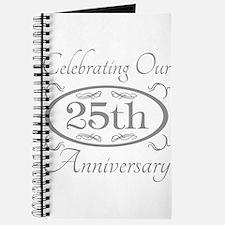 Unique 25 anniversary Journal