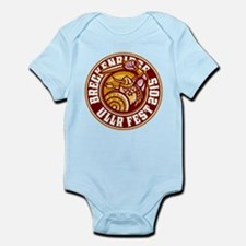 UllrFest 2015 Maroon Infant Bodysuit