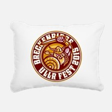 UllrFest 2015 Maroon Rectangular Canvas Pillow