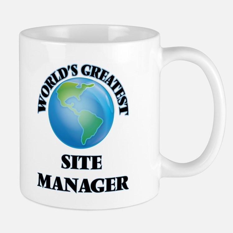 World's Greatest Site Manager Mugs