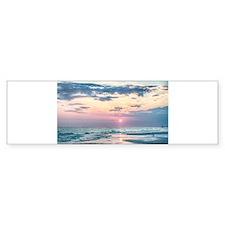 sunset at the beach Bumper Bumper Bumper Sticker