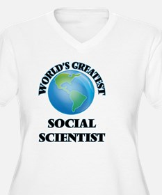 World's Greatest Social Scientist Plus Size T-Shir