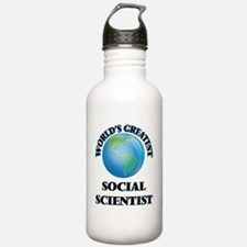 Unique Scientist. science Water Bottle