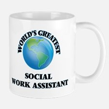 World's Greatest Social Work Assistant Mugs