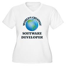 World's Greatest Software Developer Plus Size T-Sh