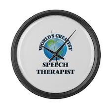 Unique Speech therapist Large Wall Clock
