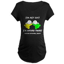 Twins Due November T-Shirt
