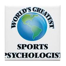 Cute Sports psychologists Tile Coaster