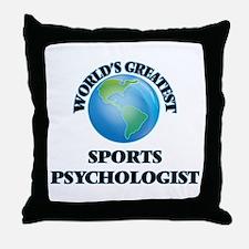 Unique Sports psychology Throw Pillow