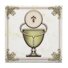 Sacraments Tile Coaster