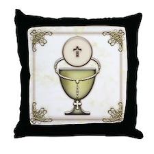 Sacraments Throw Pillow