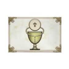 Sacraments Rectangle Magnet