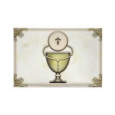 Sacraments Rectangle Magnet (10 pack)