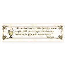 Sacraments Bumper Sticker