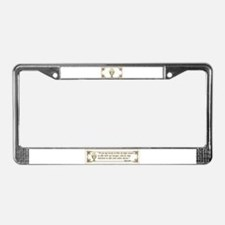 Sacraments License Plate Frame