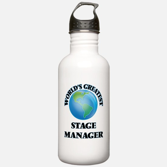 Unique Stage manager Water Bottle