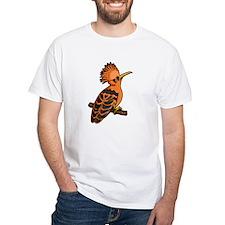 Orange Hoopoe T-Shirt