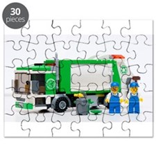 Cute Garbage truck Puzzle