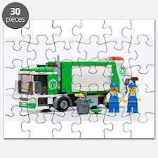 Unique Trash truck Puzzle
